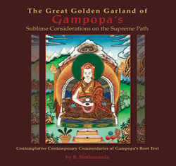 The Great Golden Garland of Gampopa's Sublime Considerations on the Supreme Path, vol. 1